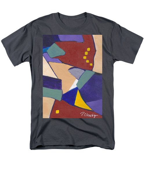 Organic Abstract Series IIi Men's T-Shirt  (Regular Fit) by Patricia Cleasby