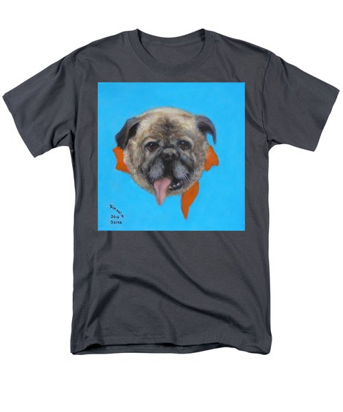 Men's T-Shirt  (Regular Fit) featuring the painting Oscar by Donelli  DiMaria