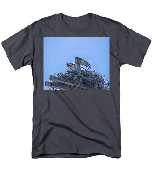 Osprey Nest II Men's T-Shirt  (Regular Fit) by Billie-Jo Miller