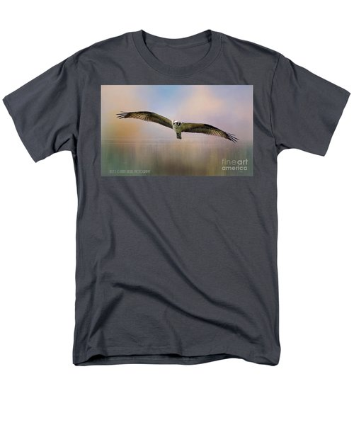 Osprey Over The Shenandoah Men's T-Shirt  (Regular Fit) by Kathy Russell