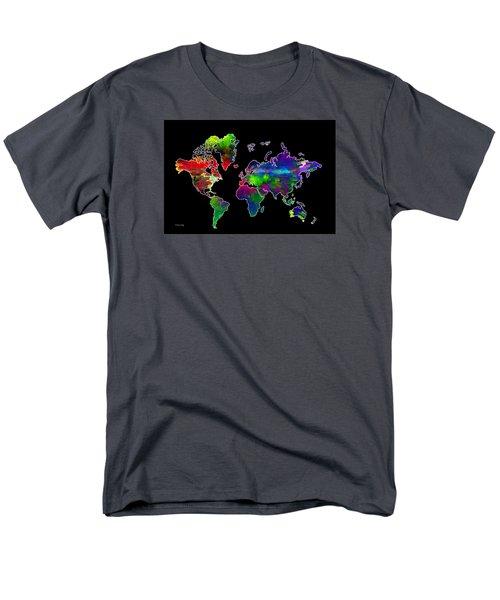 Our Colorful World Men's T-Shirt  (Regular Fit) by Randi Grace Nilsberg
