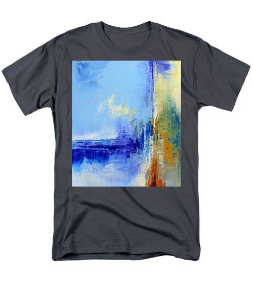 Out Of The Blue Men's T-Shirt  (Regular Fit) by Tatiana Iliina