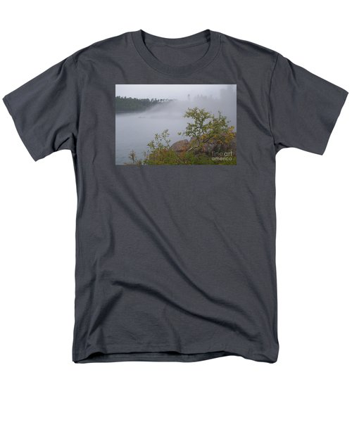 Men's T-Shirt  (Regular Fit) featuring the photograph Out Of The Fog by Sandra Updyke