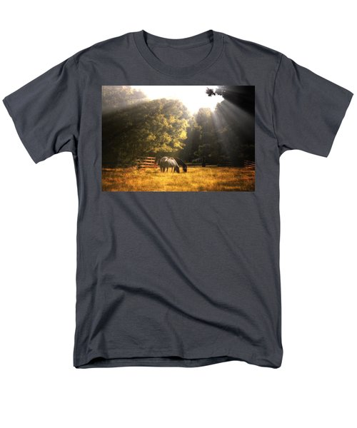 Men's T-Shirt  (Regular Fit) featuring the photograph Out To Pasture by Mark Fuller