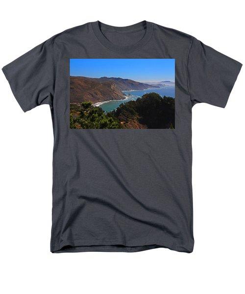 Overlooking Marin Headlands Men's T-Shirt  (Regular Fit) by Michiale Schneider