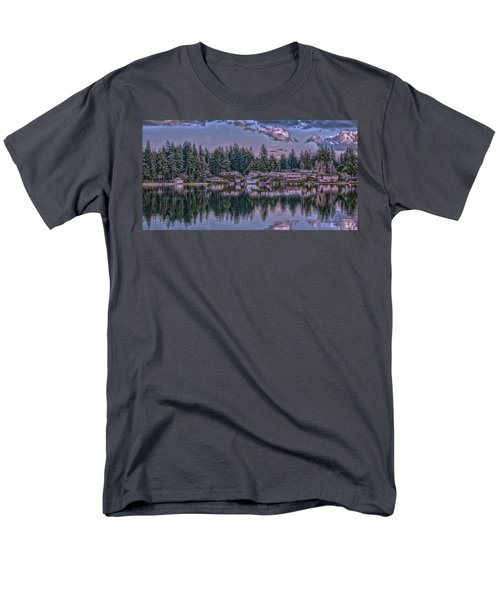 Men's T-Shirt  (Regular Fit) featuring the photograph Oyster Bay 1 by Timothy Latta