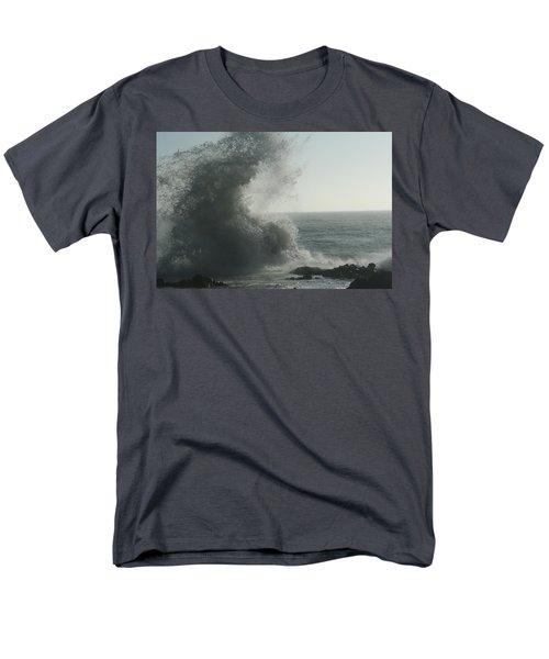 Pacific Crash Men's T-Shirt  (Regular Fit) by Laddie Halupa