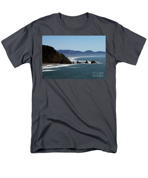 Pacific Ocean View 2 Men's T-Shirt  (Regular Fit) by Chalet Roome-Rigdon