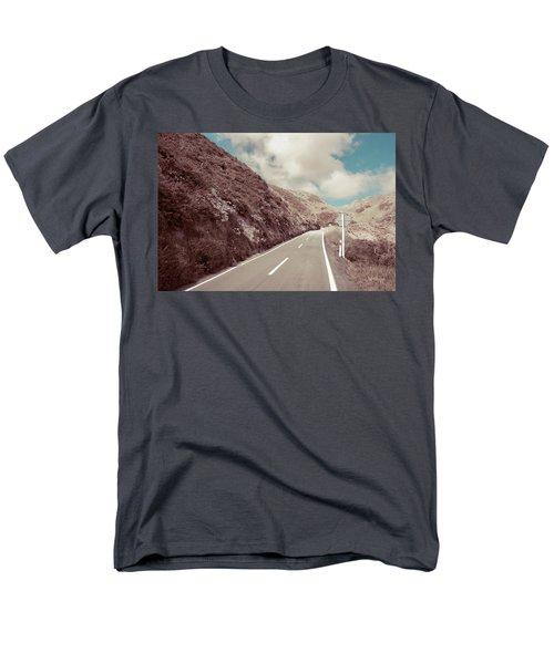 Paekakariki Hill Road Men's T-Shirt  (Regular Fit) by Joseph Westrupp