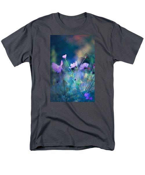 Men's T-Shirt  (Regular Fit) featuring the photograph Painted Flowers by John Rivera