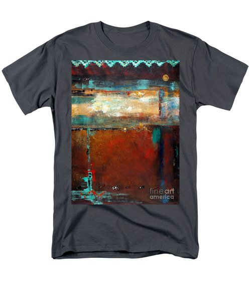 Painted Ponies Men's T-Shirt  (Regular Fit) by Frances Marino