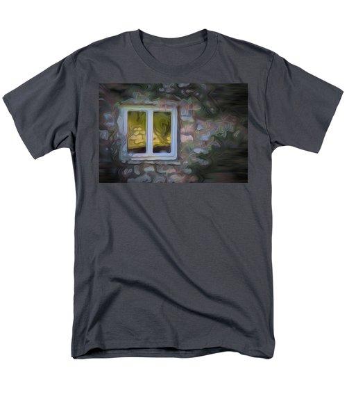 Painted Window Men's T-Shirt  (Regular Fit) by Carol Crisafi
