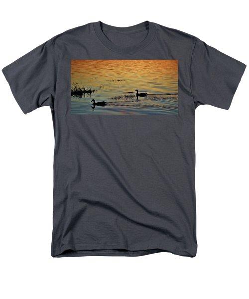 Pair Of Paddlers Men's T-Shirt  (Regular Fit) by William Bartholomew