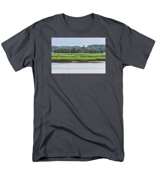 Men's T-Shirt  (Regular Fit) featuring the photograph Palm Island by Margaret Palmer