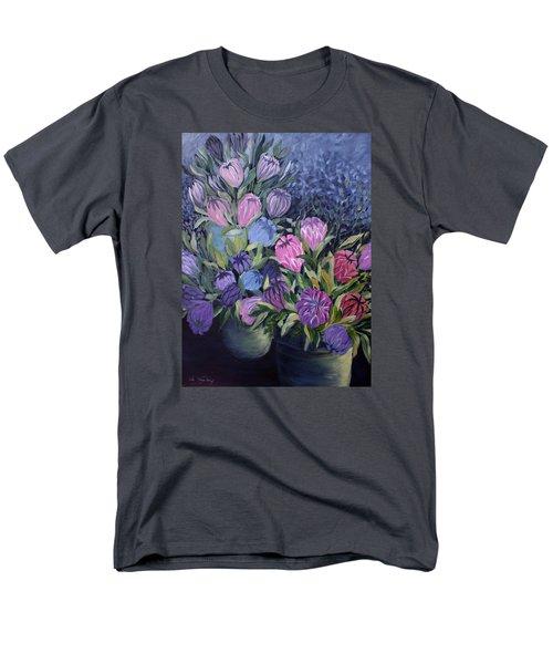 Palm Springs Market Favorites Men's T-Shirt  (Regular Fit) by Joanne Smoley