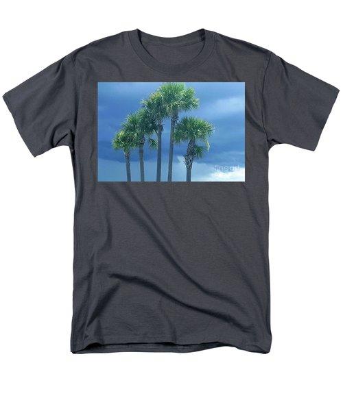 Palmy Skies Men's T-Shirt  (Regular Fit) by Rachel Hannah