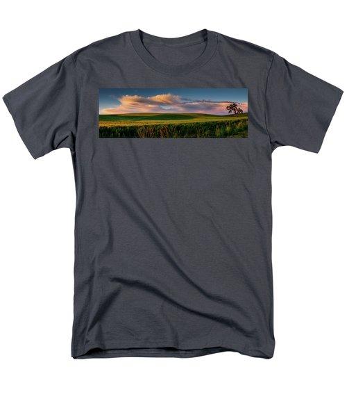 Men's T-Shirt  (Regular Fit) featuring the photograph Palouse Tree Of Life by Dan Mihai