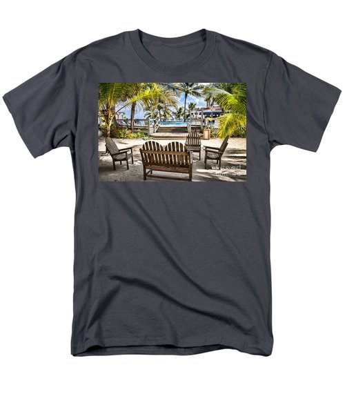 Men's T-Shirt  (Regular Fit) featuring the photograph Paradise by Lawrence Burry