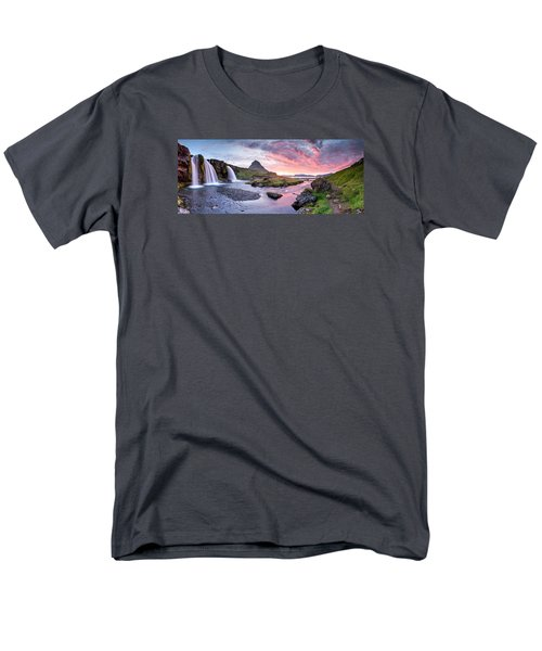Paradise Lost - Large Panorama Men's T-Shirt  (Regular Fit) by Brad Grove