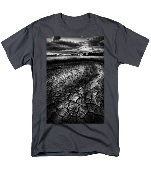 Men's T-Shirt  (Regular Fit) featuring the photograph Parched Prairie by Dan Jurak