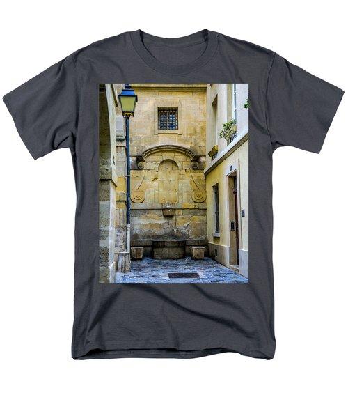 Men's T-Shirt  (Regular Fit) featuring the photograph Paris Corner Le Marais by Sally Ross