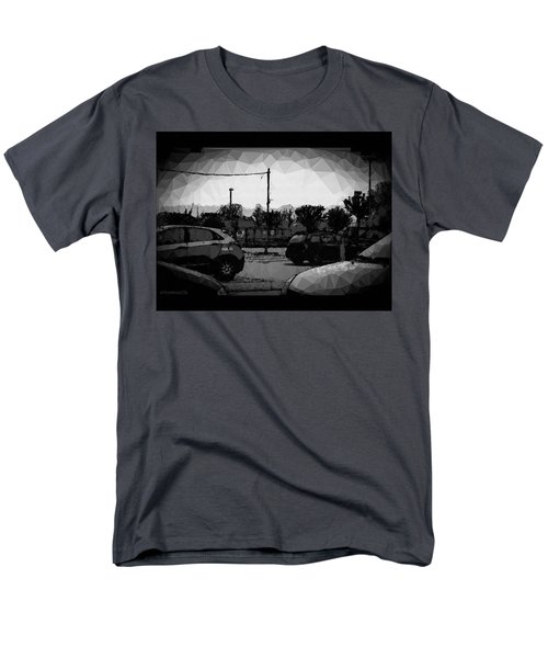 Men's T-Shirt  (Regular Fit) featuring the photograph Parking by Mimulux patricia no No