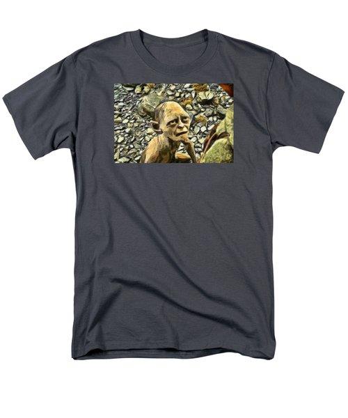 Men's T-Shirt  (Regular Fit) featuring the digital art Passionate Torture by Mario Carini