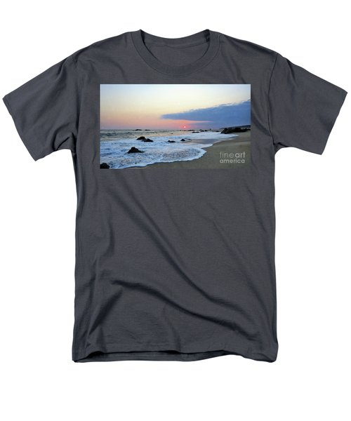 Men's T-Shirt  (Regular Fit) featuring the photograph Pastel Blue by Victor K