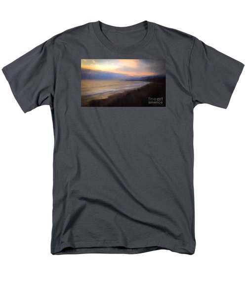 Men's T-Shirt  (Regular Fit) featuring the photograph Pastel Sunset by John A Rodriguez