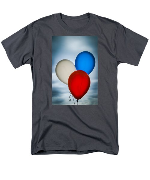 Men's T-Shirt  (Regular Fit) featuring the photograph Patriotic Balloons by Carolyn Marshall