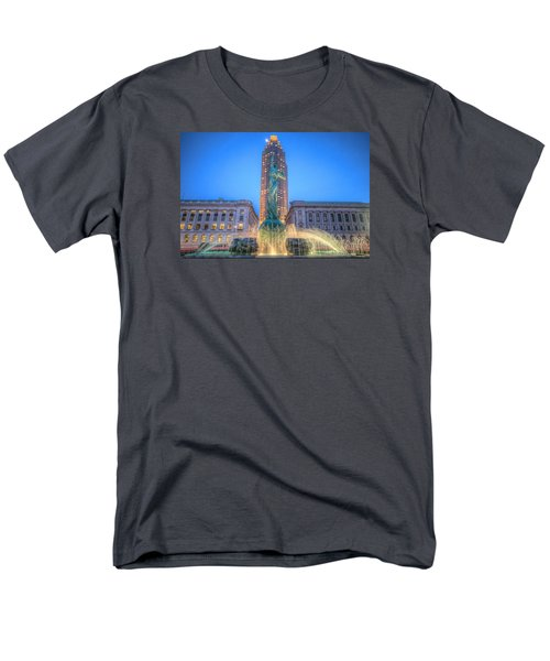 Men's T-Shirt  (Regular Fit) featuring the photograph Peace Arising From The Flames Of War by Brent Durken