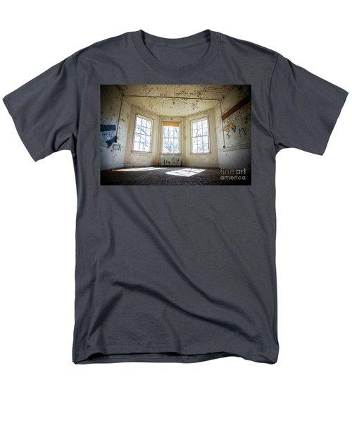 Pealing Walls Men's T-Shirt  (Regular Fit) by Randall Cogle