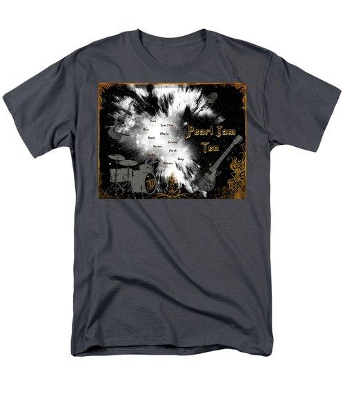 Pearl Jam Ten Men's T-Shirt  (Regular Fit) by Michael Damiani