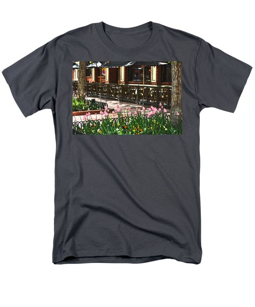 Pearl Street Mall Men's T-Shirt  (Regular Fit) by Colleen Coccia