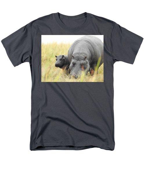 Men's T-Shirt  (Regular Fit) featuring the photograph Peek by Betty-Anne McDonald