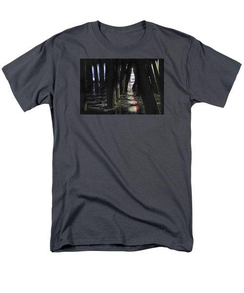 Peeking Men's T-Shirt  (Regular Fit) by Lora Lee Chapman