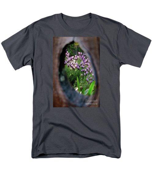 Peephole Garden Men's T-Shirt  (Regular Fit) by CML Brown