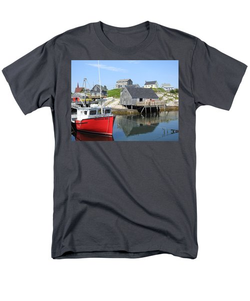 Peggy's Cove, Nova Scotia Men's T-Shirt  (Regular Fit)