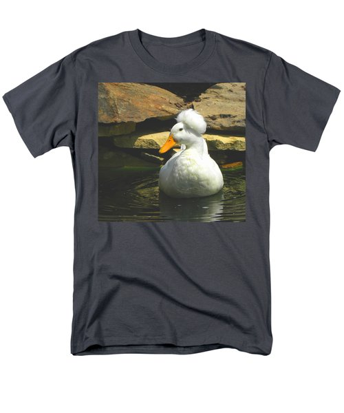 Men's T-Shirt  (Regular Fit) featuring the photograph Pekin Pop Top Duck by Sandi OReilly