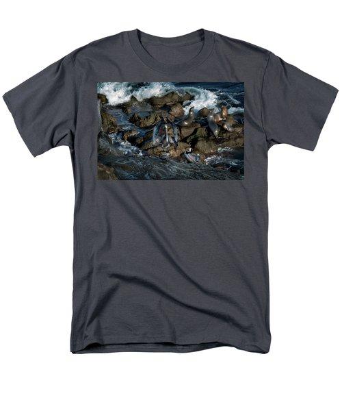Pelican Landing Men's T-Shirt  (Regular Fit) by James David Phenicie