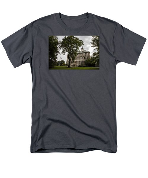Penn State Old Main And Tree Men's T-Shirt  (Regular Fit) by John McGraw