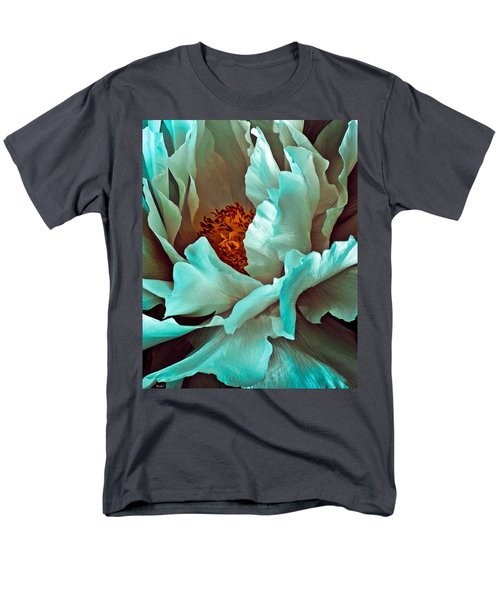 Peony Flower Men's T-Shirt  (Regular Fit) by Chris Lord