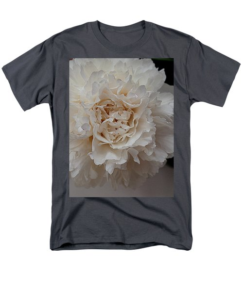 Men's T-Shirt  (Regular Fit) featuring the photograph Peony Petals by Nancy Kane Chapman