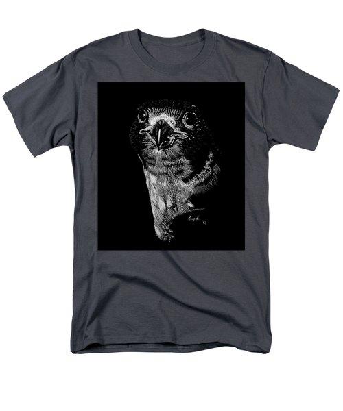 Peregrin Falcon Men's T-Shirt  (Regular Fit) by Lawrence Tripoli