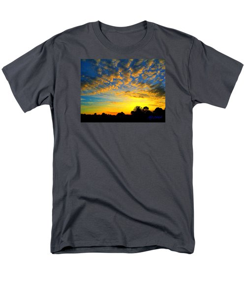 Men's T-Shirt  (Regular Fit) featuring the digital art Perfect Sunset by Mark Blauhoefer