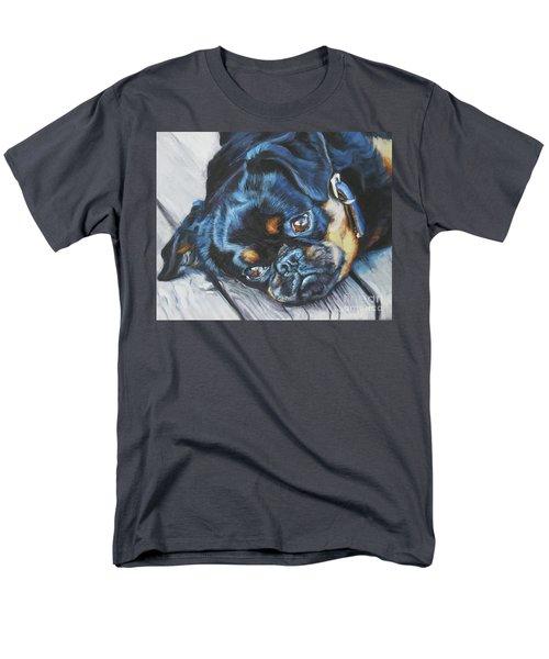 Petit Brabancon Brussels Griffon Men's T-Shirt  (Regular Fit) by Lee Ann Shepard