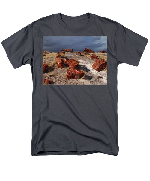 Men's T-Shirt  (Regular Fit) featuring the photograph Petrified Forest National Park by James Peterson