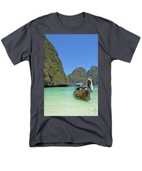 Phi Phi Islands 3 Men's T-Shirt  (Regular Fit) by Eva Kaufman