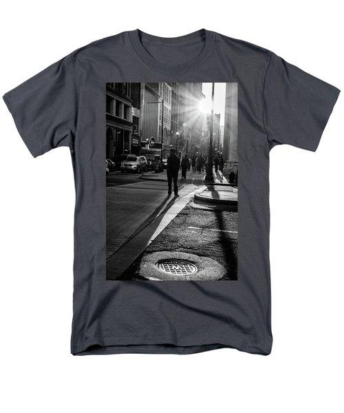Philadelphia Street Photography - 0943 Men's T-Shirt  (Regular Fit) by David Sutton