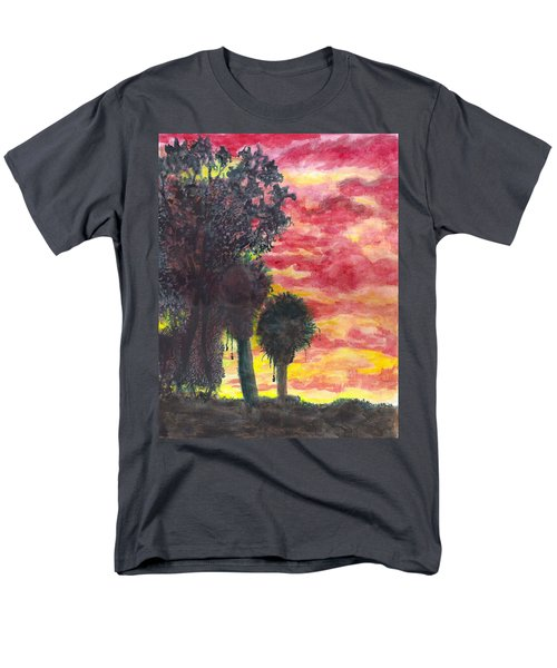 Phoenix Sunset Men's T-Shirt  (Regular Fit) by Eric Samuelson